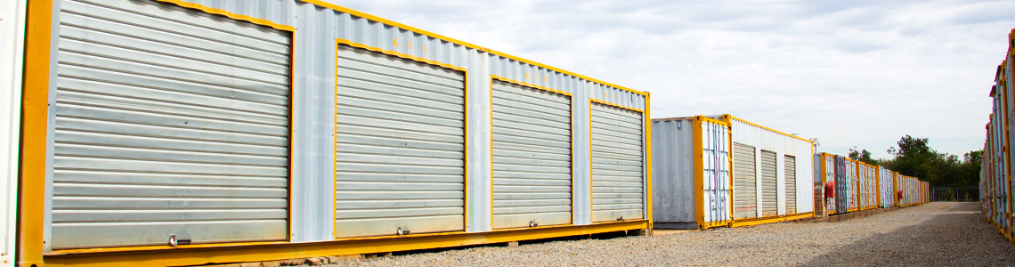 Self Storage units with Security